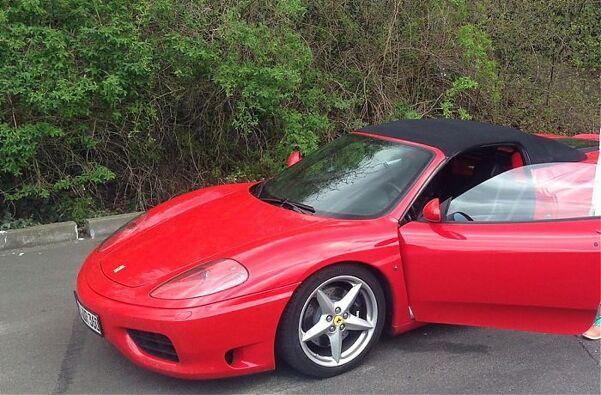 Ferrari Fahren Schenken